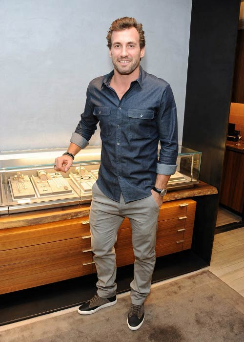Jarret Stoll during the celebration of the launch of The Men's Forged Carbon Collection in November 2014