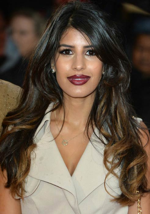 Jasmin Walia at the UK premiere of Sicario in September 2015
