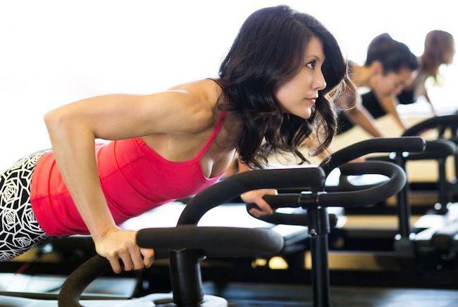 Jennifer Yates training hard