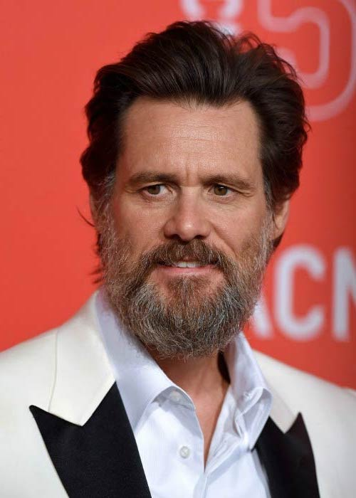 Jim Carrey at the LACMA 50th Anniversary Gala in April 2015