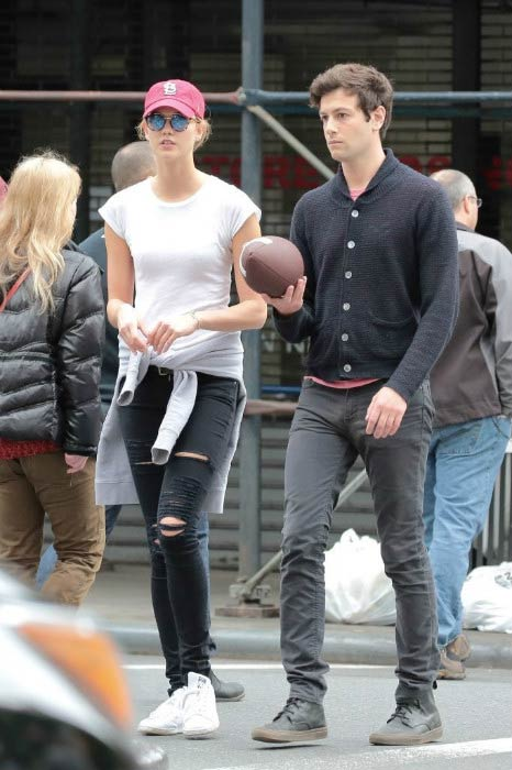 Joshua Kushner and Karlie Kloss in Manhattan in May 2016