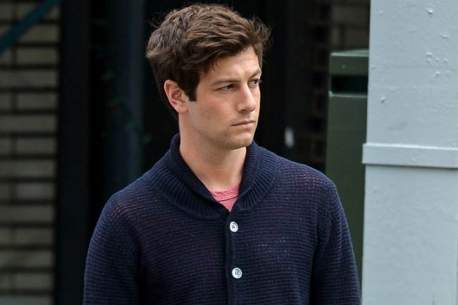 Joshua Kushner out on the streets of New York City in 2015