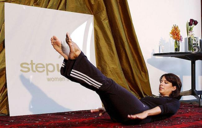 Julie Turner core workout