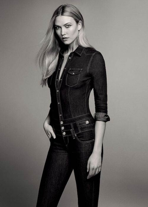 Karlie Kloss for Liu Jo Fall / Winter 2016-2017