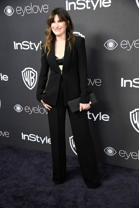 Kathryn Hahn at the 18th Annual Post-Golden Globes Party in January 2017