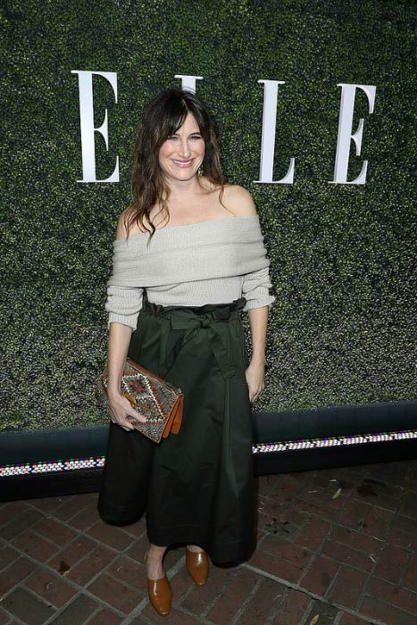 Kathryn Hahn at the ELLE's Annual Women In Television Celebration in January 2017