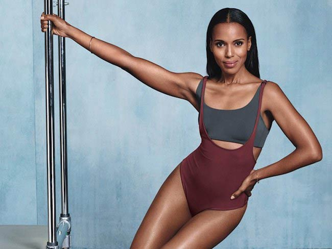 Kerry Washington for Shape Magazine