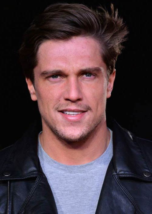 Lewis Bloor at the World premiere of Grimsby in February 2016