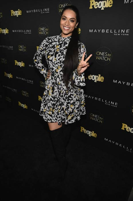 Lilly Singh at the People's Ones to Watch presented by Maybelline New York in October 2016