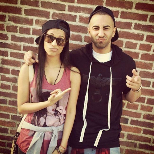 Lilly Singh and Yousef Erakat during their new YouTube video