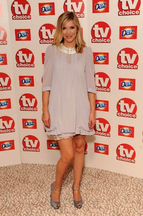 Lisa Faulkner at the 2010 TV Choice Awards