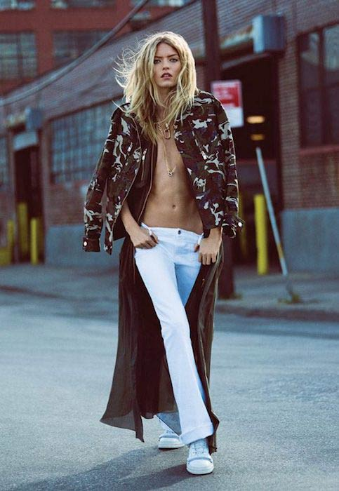 Martha Hunt stars in Harper's Bazaar photoshoot