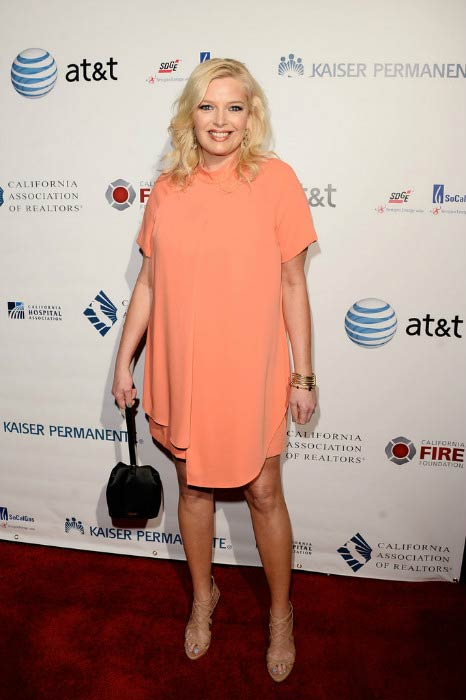 Melissa Peterman at the California Fire Foundation Gala in March 2016