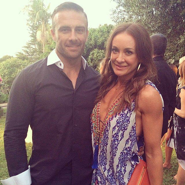Michelle Bridges and Steve Commando Willis