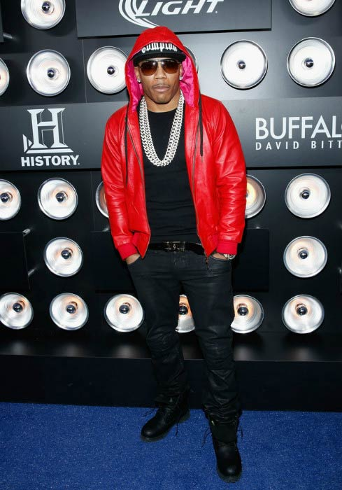 Nelly at The Playboy Party in January 2014