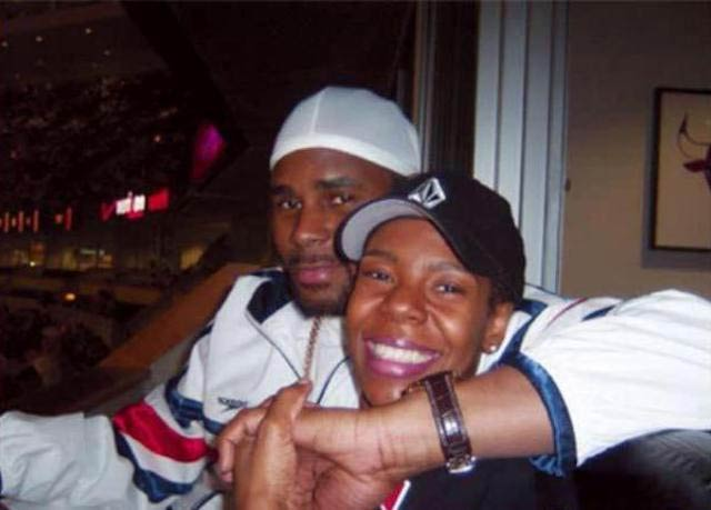 R Kelly and Andrea Kelly