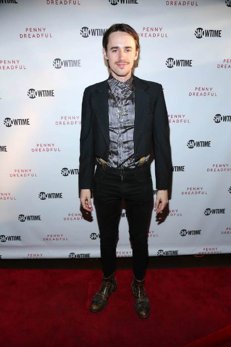 Reeve Carney at the Penny Dreadful screening and Q&A with Reeve Carney in April 2015