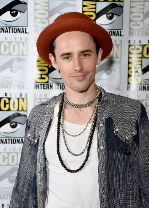 Reeve Carney at The Rocky Horror Picture Show press line during Comic-Con International in July 2016