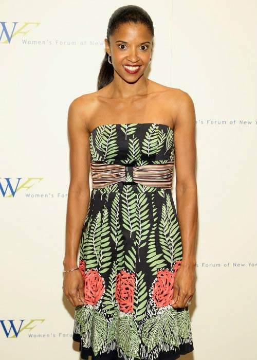Renee Elise Goldsberry at the 2016 Elly Awards