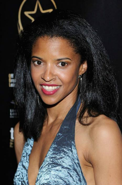 Renee Elise Goldsberry at the 30th Annual Lucille Lortel Awards in May 2015