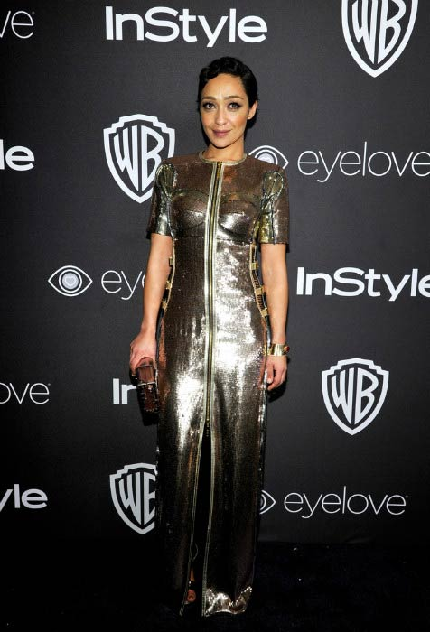 Ruth Negga at 2017 Golden Globe Awards Post-Party