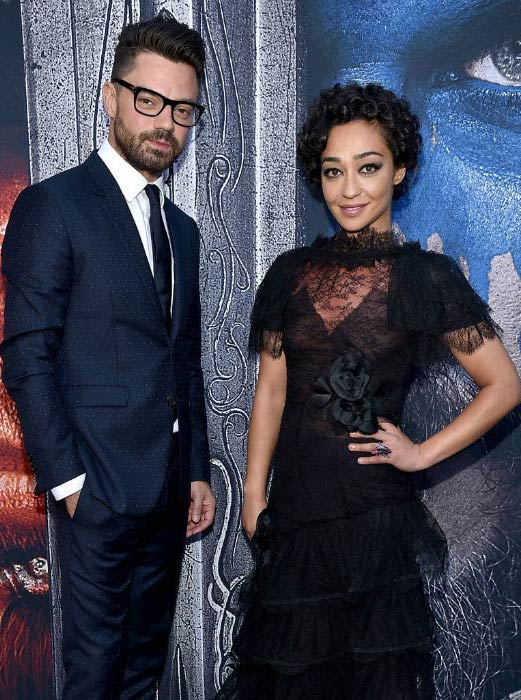 Ruth Negga and Dominic Cooper at the Warcraft premiere in June 2016