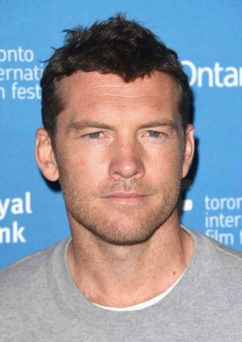 Sam Worthington at the 2014 Toronto International Film Festival