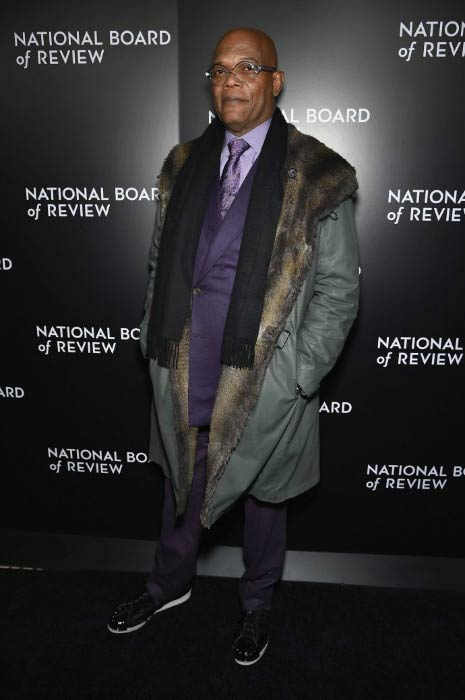Samuel L. Jackson at the National Board of Review Gala in January 2016