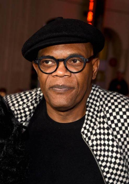 Samuel L. Jackson at the xXx: Return of Xander Cage premiere in January 2017