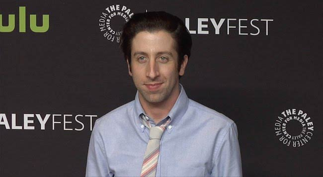 Simon Helberg at the 2016 PaleyFest in Hollywood, California