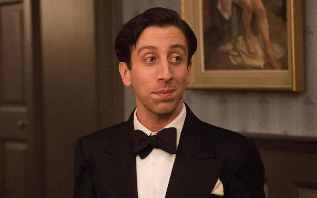 "Simon Helberg in a still from ""Florence Foster Jenkins"" released in 2016"