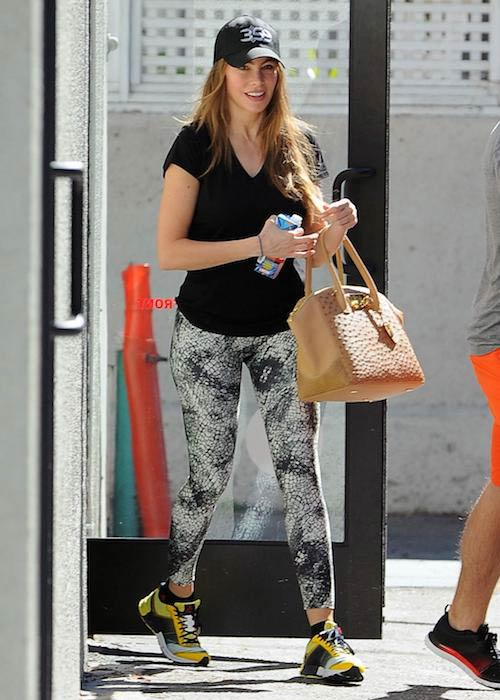 Sofia Vergara leaves gym after workout