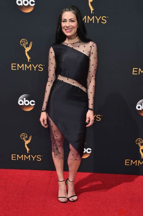 Stacy London at the 2016 Primetime Emmy Awards