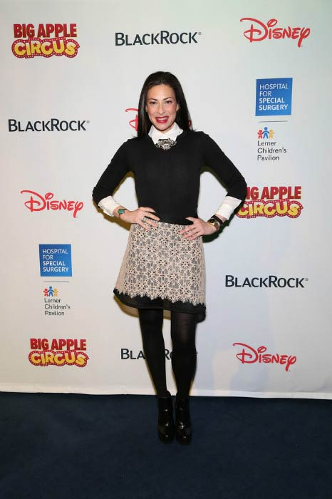 Stacy London at the Hospital for Special Surgery Big Apple Circus Benefit in December 2014