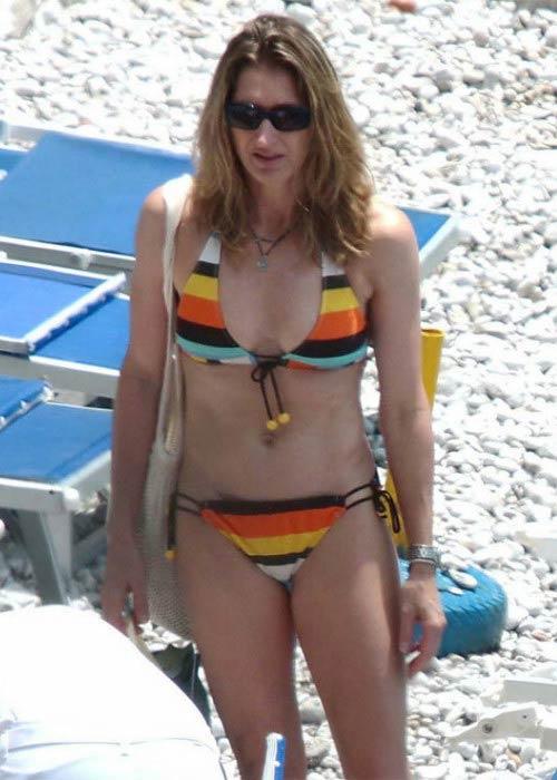 Steffi Graf in bikini on the Miami Beach in July 2009