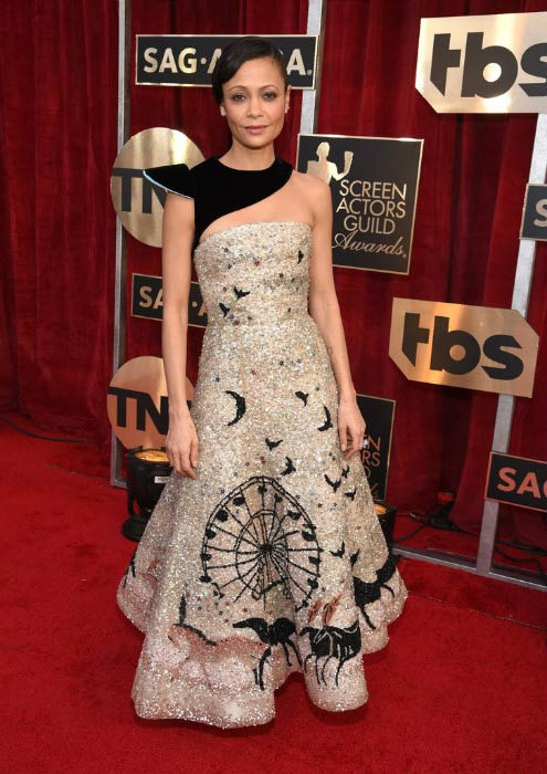 Thandie Newton at the 2017 Screen Actors Guild Awards