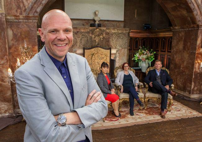 Tom Kerridge appears on the show Bake Off: Creme de la Creme