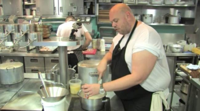 Tom Kerridge before weight loss