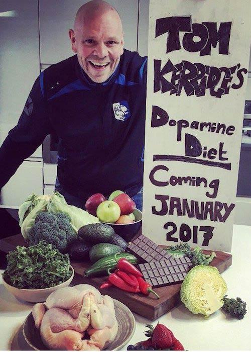 Tom Kerridge promoting his book