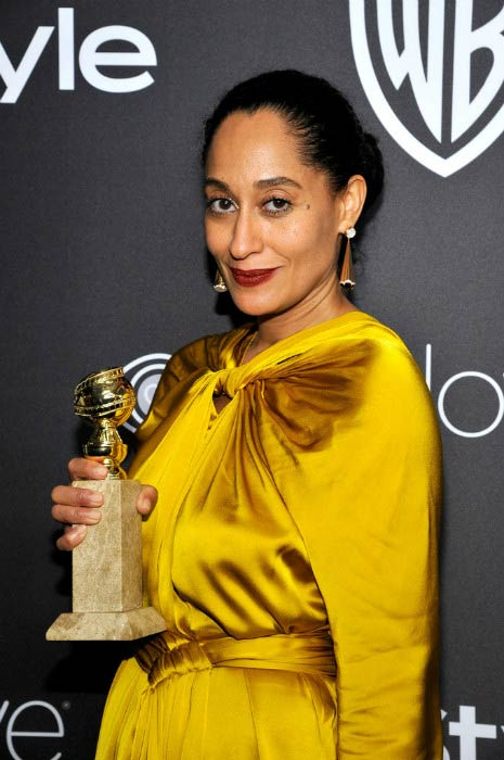 Tracee Ellis Ross at the 2017 Golden Globe Awards Post-Party