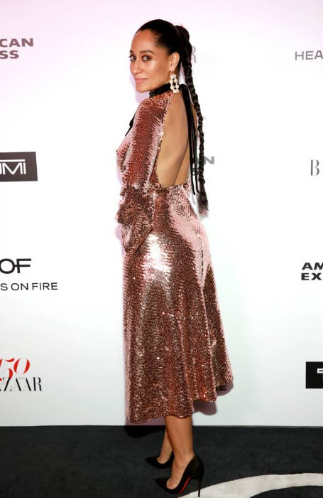 Tracee Ellis Ross at the Harper's BAZAAR 150 Most Fashionable Women celebration event in January 2017