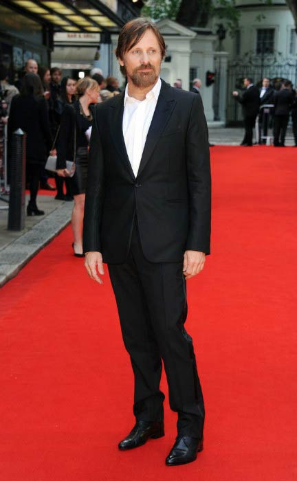 Viggo Mortensen at The Two Faces Of January UK premiere in May 2014