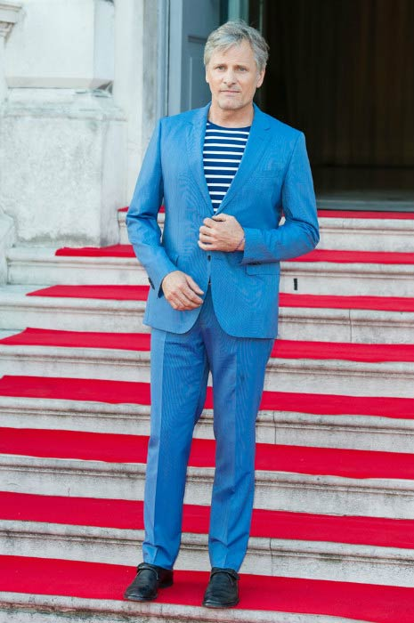 Viggo Mortensen at the UK film premiere of Captain Fantastic in August 2016