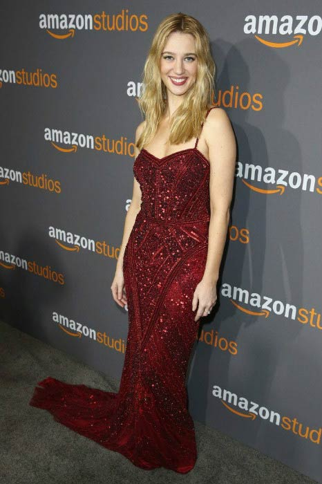 Yael Grobglas at the Amazon Studios Golden Globes Celebration in January 2017