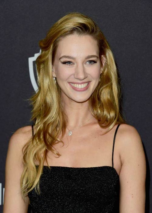 Yael Grobglas at the Golden Globe Awards Post-Party in January 2016
