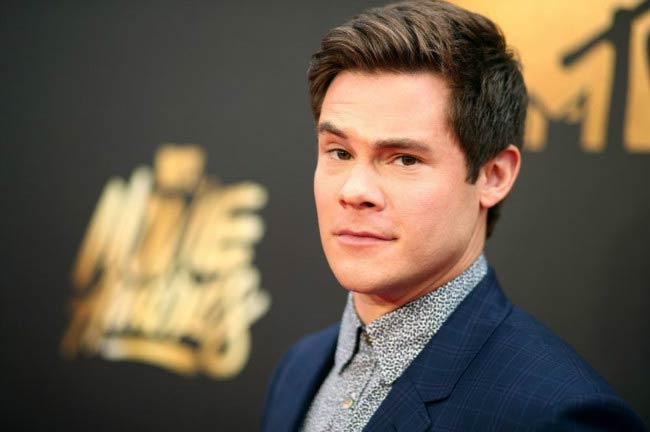 Adam DeVine at the MTV Movie Awards in April 2016