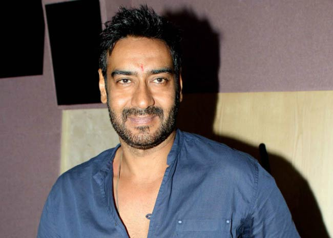 Ajay Devgan at a public event in 2011