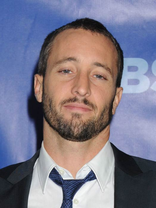 Alex O'Loughlin at the CBS Upfront in May 2011