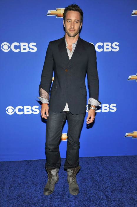Alex O'Loughlin at the CBS event Cruze Into The Fall in September 2010