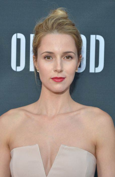 Alona Tal at the Hand of God premiere in Los Angeles California on August 19, 2015